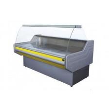 Холодильная витрина с гнутым стеклом ВХСК ПРЕМЬЕРА 1.5 Д Айстермо; 1,5х1,0 м, (0...+8)°С, бизнес