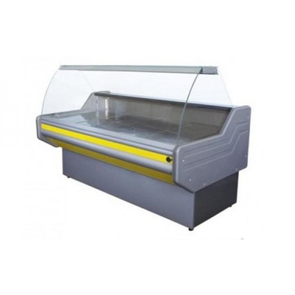 Охлаждаемая витрина с гнутым стеклом ВХСК ПРЕМЬЕРА 1.8 Д Айстермо; 1,8х1,0 м, (0...+8)°С, бизнес