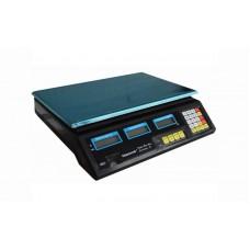 Торговые электронные весы без стойки Nokasonic ACS-40 до 40 кг, точность 5 г