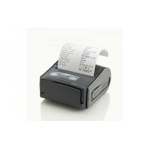 Мобильный чековый принтер Экселлио DPP-350 с креплением для ношения на поясе