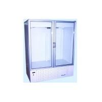 Двухдверный охлаждаемый шкаф Айстермо ШХС-1.4; (1600х700х2000 мм), 0…+8˚С, стеклянные двери