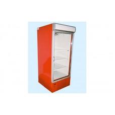 Холодильный шкаф с лайтбоксом ШХС-0.5 АйсТермо; (0…+8)˚С, 600х660х1950 мм, стеклянная дверь