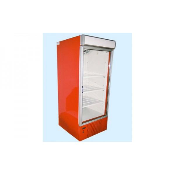 Охлаждаемый шкаф с лайтбоксом ШХС-0.6 АйсТермо; (0…+8)˚С, 695х750х1950 мм, стеклянная дверь