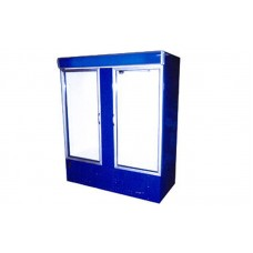 Шкаф с лайтбоксом холодильный ШХС-1.0 АйсТермо; (0…+8)˚С, 1260х700х2000 мм, стеклянные двери