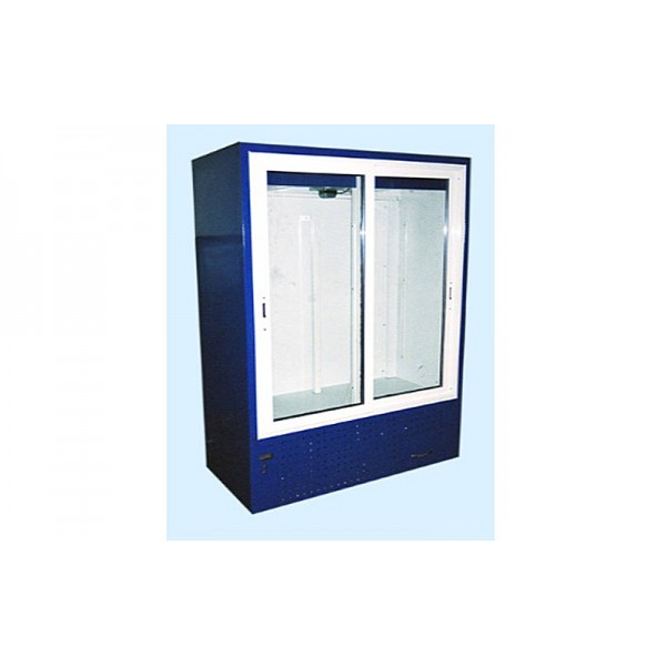 Шкаф холодильный ШХС-0.8 Айстермо, (1,2х0,7х1,85 м), 0…+8˚С, раздвижные стеклянные двери