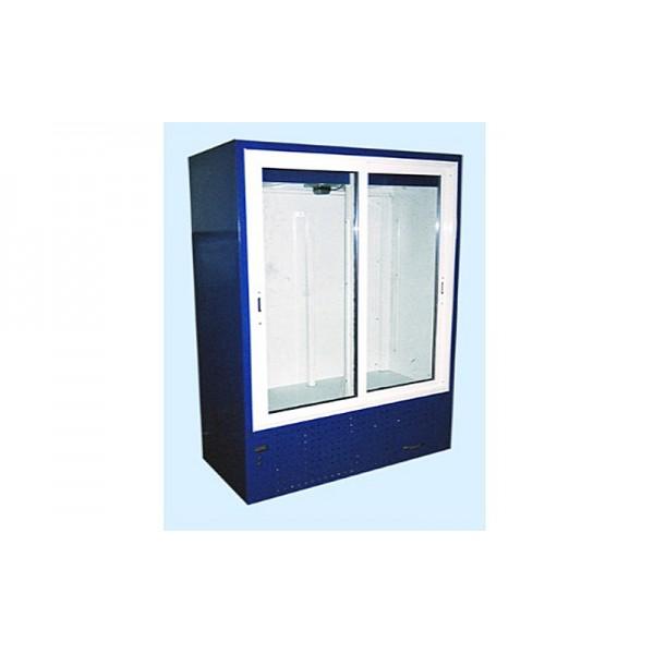 Шкаф холодильный ШХС-1.4 Айстермо, (1,6х0,7х2,0 м), 0…+8˚С, раздвижные прозрачные двери