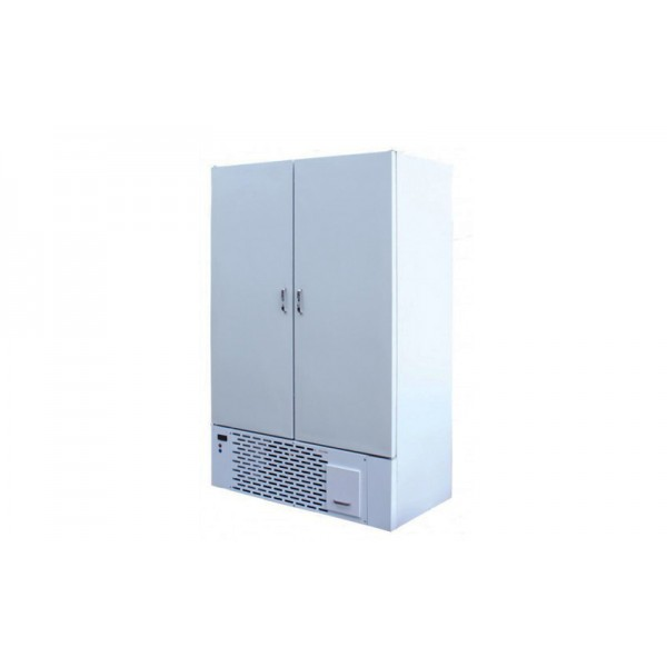 Холодильный шкаф для хранения ШХУ-1.2 с глухими дверями АйсТермо; (-5…+8)˚С, 1400х710х2000 мм