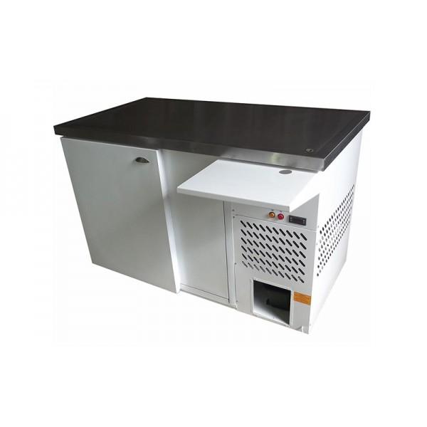 Охлаждаемый стол Айстермо СО-0.45 с охлаждаемой поверхностью из нержавеющей стали; (1,5х0,8х0,95 м), -2…+5˚С
