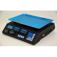 Торговые электронные весы без стойки Спартак ACS-40 до 40 кг, точность 5 г