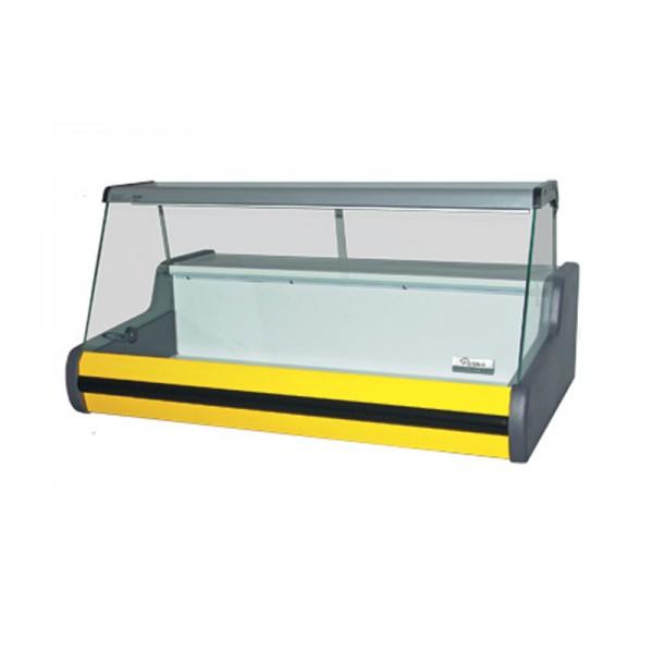"""Настольная холодильная витрина РОСС Parma-1,0; 1,06х0,71 м, (+2…+8°С) """"Эконом"""", прямое стекло"""