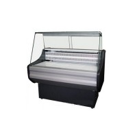 Холодильная витрина эконом-класса РОСС Rossano-1,0 с плоским стеклом; 1,0х0,7 м, (0…+8°С)