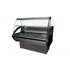 Холодильная витрина РОСС Россинка-1,0 ВС Эконом; 1,0х0,8 м (от 0 до +8°С с полкой), выпуклое стекло