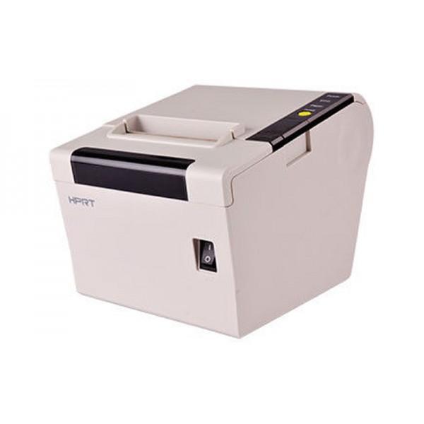 Термопринтер для чеков HPRT TP806 Serial+USB белый (высокая скорость печати, автообрезчик)