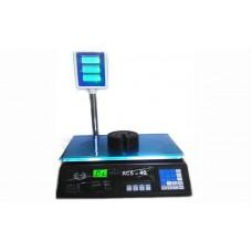 Торговые электронные весы без стойки Спартак ACS-40B1 до 40 кг, точность 5 г