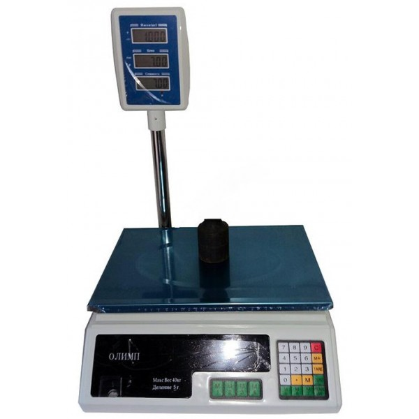 Весы торговые Олимп ACS-D1 до 40 кг