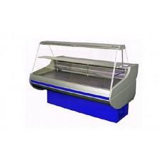 Холодильная витрина РОСС Стандарт Siena 1,1-1,5 ПС (0...+8°С, 1,59х1,1 м, с плоским стеклом)