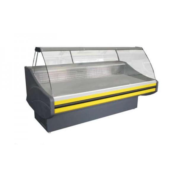 Холодильная витрина РОСС Стандарт Savona-2,4 ВС (0...+8°С, 2500х1160х1260 мм, выпуклое стекло)