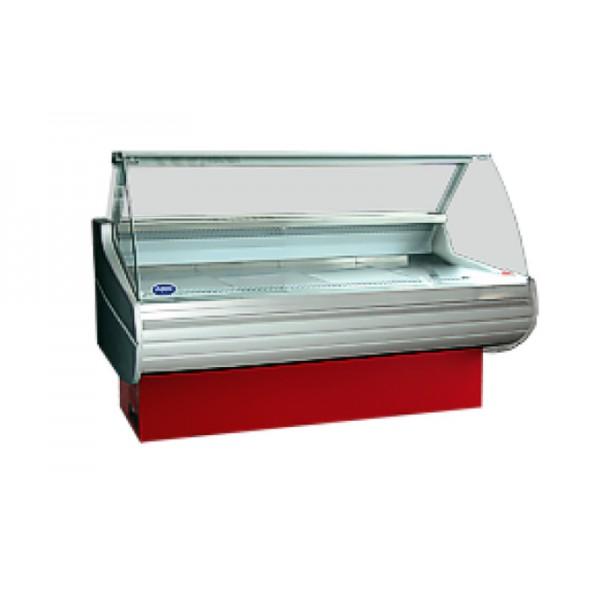 Холодильная витрина РОСС Бизнес Belluno D-1,1-2,0 (+2...+8°С, 2,09х1,1 м, выпуклое стекло)