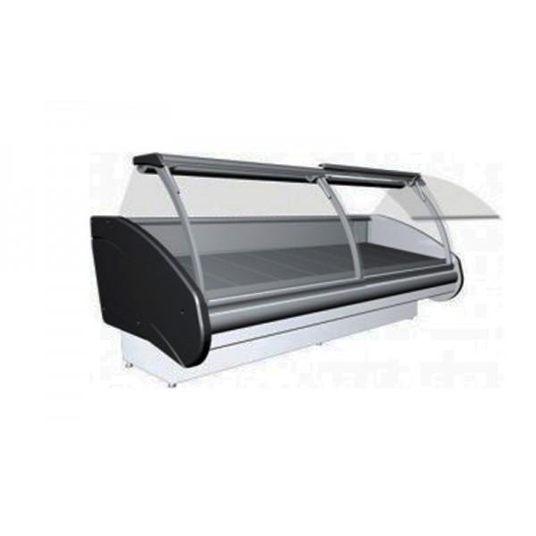 Холодильная витрина РОСС Люкс Delia-1,7 (0...+8°С, 1,8х1,2 м, выпуклое стекло)