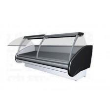 Холодильная витрина РОСС Люкс Delia D-1,0 (0...+8°С, 1,1х1,2 м, выпуклое стекло)