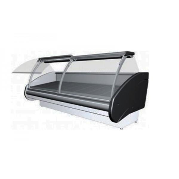 Холодильная витрина РОСС Люкс Delia D-3,6 (0...+8°С, 3,7х1,2 м, выпуклое стекло)