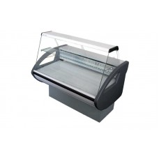 Холодильная витрина РОСС Эконом Rimini-П-1,2 Н (до -5°С, 1,29х0,8 м, с плоским стеклом и полкой)