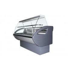 Холодильная витрина РОСС Эконом Rimini-П-1,7 ВС (до -5°С, 1,79х0,8 м, с выпуклым стеклом и полкой)