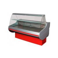 Холодильная витрина РОСС Стандарт Siena-П-0,9-1,0 ВС (до -5°С, 1,0х0,9 м, с выпуклым стеклом)