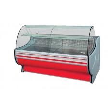 Холодильная витрина РОСС Стандарт Gold-П-1,1-1,2 (до -5°С, 1,31х1,1 м, выпуклое стекло)