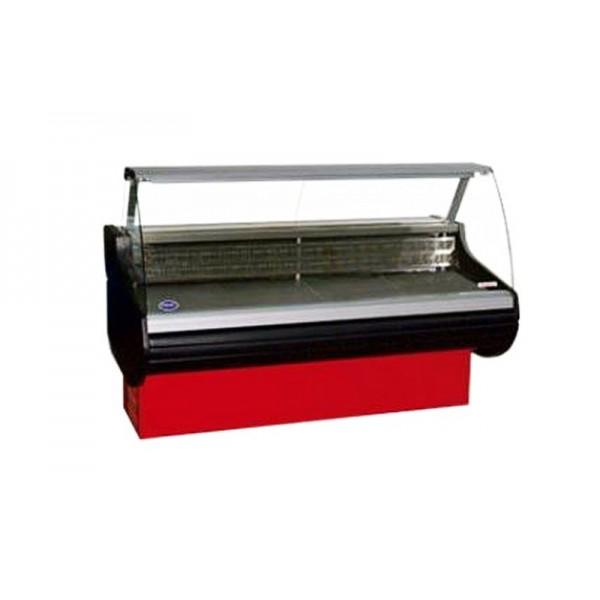 Холодильная витрина РОСС Бизнес Belluno-П-1,1-1,2 (до -5°С, 1,29х1,1 м, выпуклое стекло)