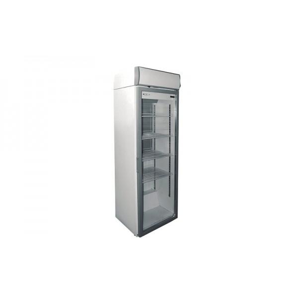 Холодильный шкаф РОСС Torino -365C (0...+8°С, стеклянная дверь, объем 365 л)