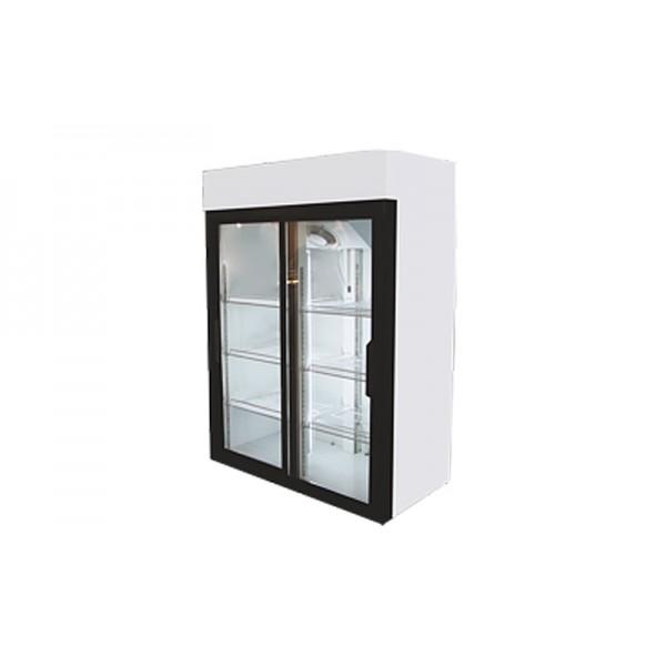 Холодильный шкаф-купе РОСС (Украина) Torino -800CК (0...+8°С, стеклянные двери, объем 800 л)
