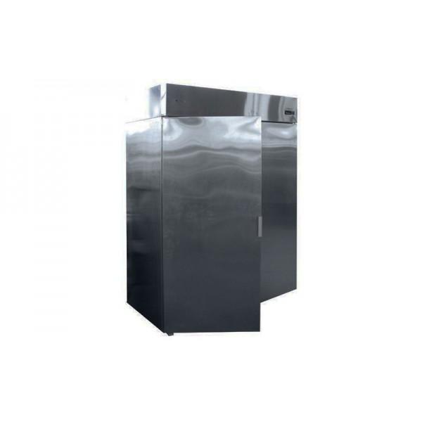 Холодильный шкаф РОСС Torino-Н-1200Г (нерж) (-15...-18°С, глухие двери, объем 1200 л, нерж. сталь)