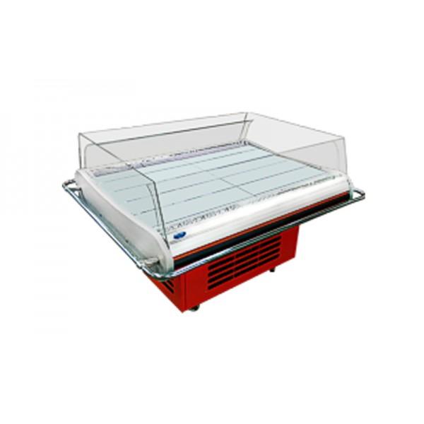 Демонстрационная холодильная витрина РОСС SALERNO -1,4 (+2...+8°С, 1,4х1,1х0,92 м)