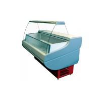 Морозильная витрина РОСС Эконом Siena М 1,1-1,2 ВС (-15...-18°С, 1,29х1,1 м, с выпуклым стеклом)