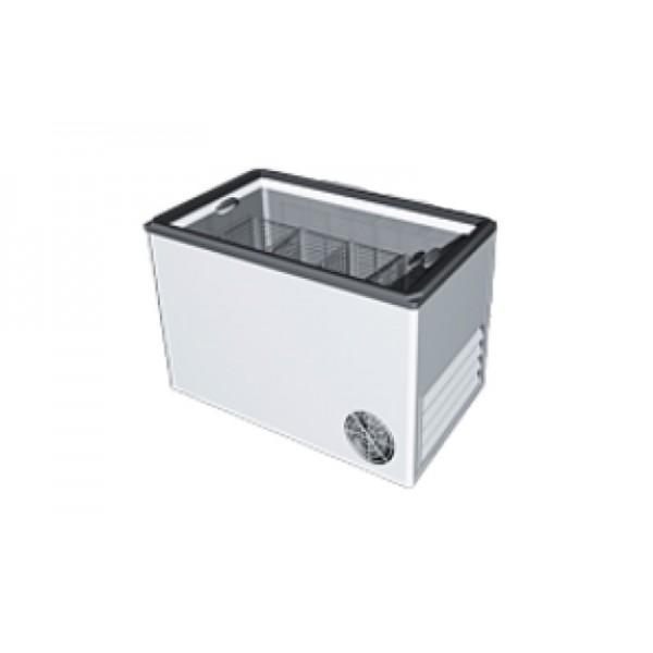 Морозильный ларь РОСС ВХТ-Н-Л-С-300 (-15…-18°С, объем 300 л, с плоским стеклом и пласт рамкой)