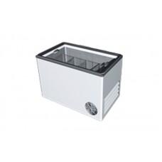 Морозильный ларь РОСС ВХТ-Н-Л-С-400 (-15…-18°С, объем 400 л, с плоским стеклом и пласт рамкой)