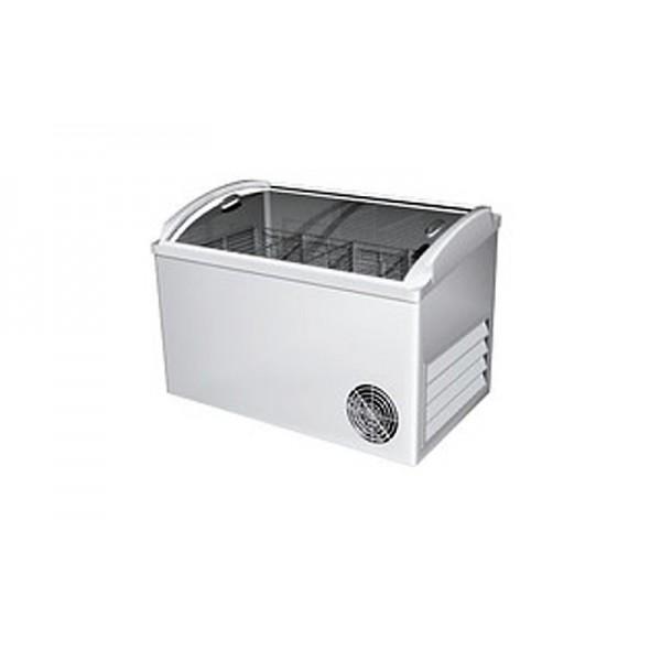 Морозильный ларь РОСС ВХТ-Н-Л-С-300 (-15…-18°С, объем 300 л, с выпуклым стеклом и пласт рамкой)