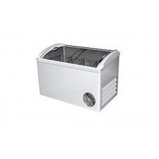 Морозильный ларь РОСС ВХТ-Н-Л-С-400 (-15…-18°С, объем 400 л, с выпуклым стеклом и пласт рамкой)