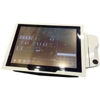 Контактный терминал c принтером Poslab DynamicPOS, 15'' AIO TouchPoS Terminal (белый)