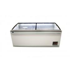 Морозильный ларь-бонета Росс FRIZA ВХТ-Н-Л-СВ-750 (-18…-24°С, длиной 2,1 м, с плоским стеклом)
