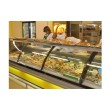 Холодильная витрина РОСС Люкс Florenzia-2,4 (+1...+4°С, 2,4х1,2 м, с агрегатом и выпуклым стеклом)