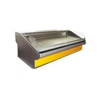 Демонстрационная холодильная витрина РОСС Люкс Florenzia-S-2,4 (+1...+4°С, 2,4х1,2 м, с агрегатом)