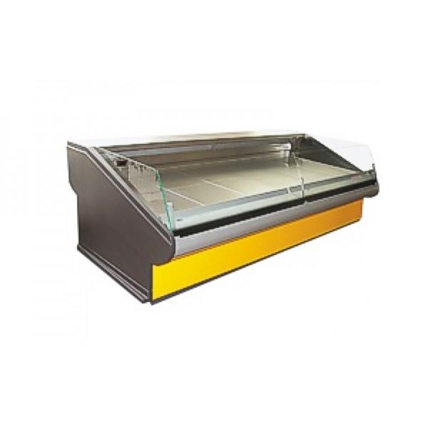 Демонстрационная холодильная витрина РОСС Люкс Florenzia-S-2,4 (+1...+4°С, 2,4х1,2 м)