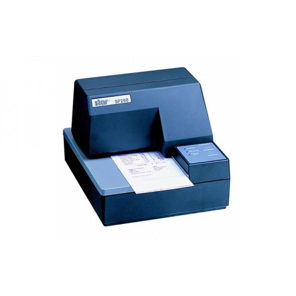 Чековый матричный принтер с подкладной печатью STAR SP298 (черный)