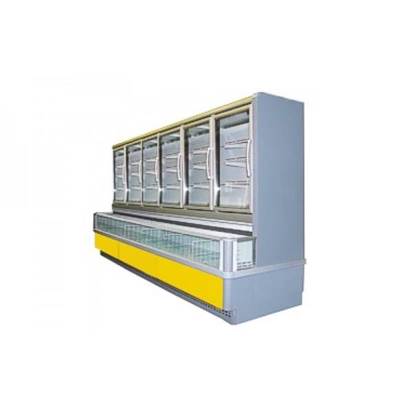 Морозильный шкаф-бонета РОСС (Украина) MILANO-3,75 (-18…-24°С, 3,75х1,18х2,26 м)