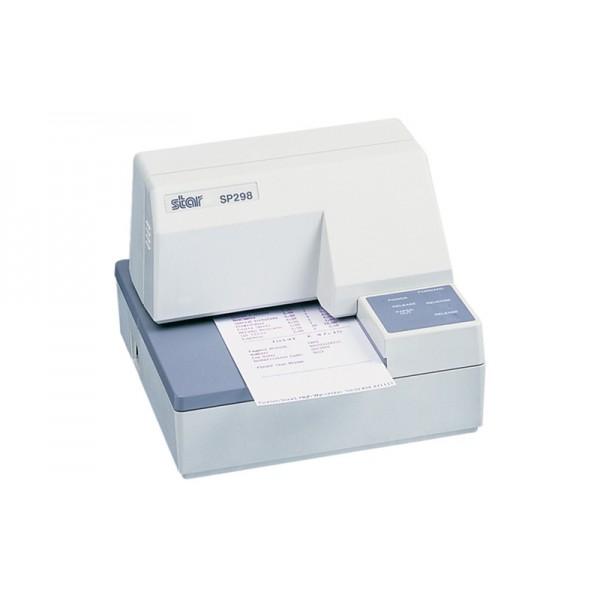 Чековый матричный принтер с подкладной печатью STAR SP298 (белый)