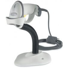 Сканер штрих-кодов Motorola Symbol LS-2208 (RS-232) с подставкой, белый