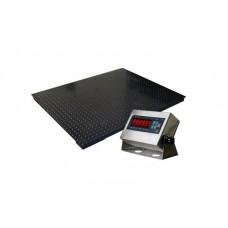 Платформенные весы РТБ Ресурс -П-3000 до 3000 кг (1200х1200 мм), точность 1000 г
