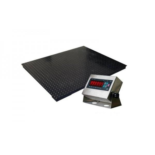 Платформенные весы РТБ Ресурс -П-2000 до 2000 кг (1500х1500 мм), точность 1000 г